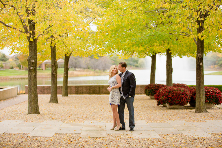Chicago Botanic Garden Engagement Pictures