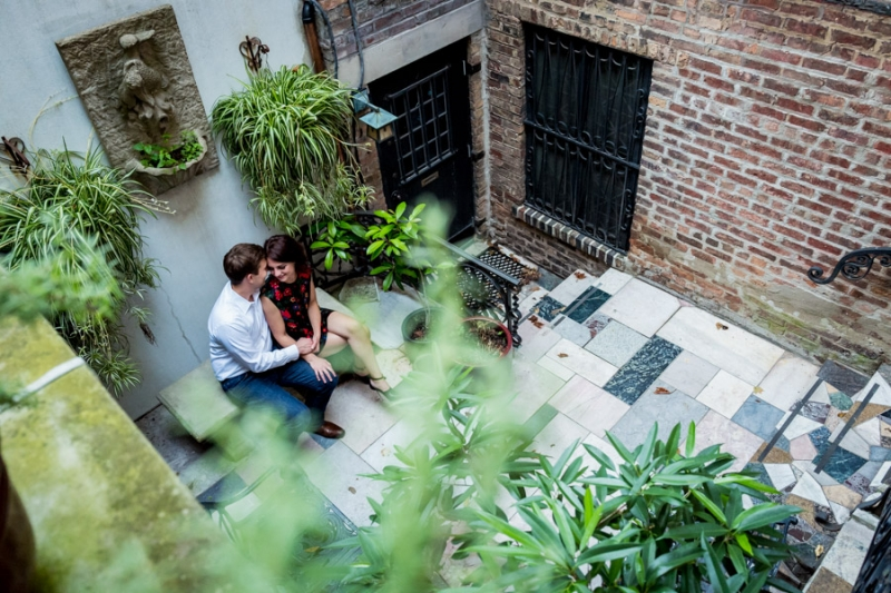 Lincoln Park Conservatory Engagement Photography